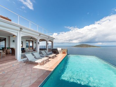Photo for Stardust Villa - Infinity Edge Pool, Endless Views, Large Patios & Rooftop Deck
