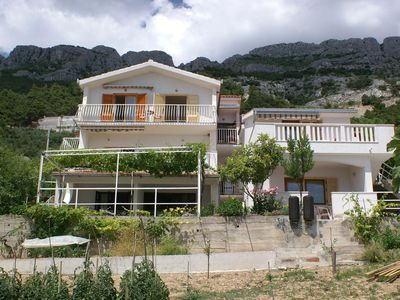 Photo for Apartment in Pisak (Omiš), capacity 2+1