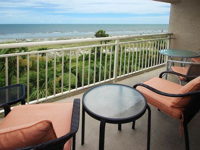 Photo for Oceanfront villa w/ balcony, ocean views, shared pool & sun deck - beach nearby!