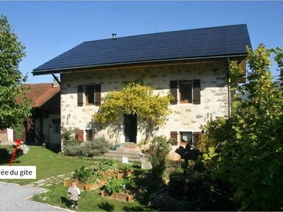 Photo for Gite 2-4 people - 55 sqm in the heart of the Haute Savoie