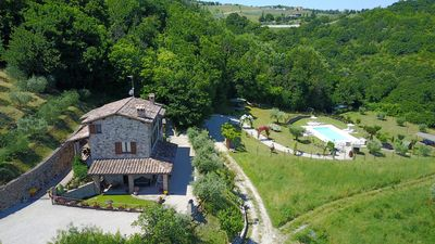 Photo for Enjoy Umbria | Agriturismo Capitolini | Farmhouse with pool and garden | Acqua