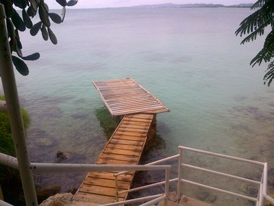 Photo for Steps to the Beach. Private Pier, Apt with paddleboard
