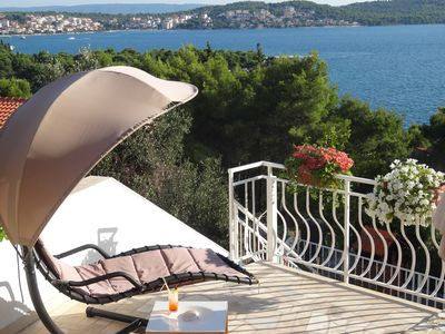 Photo for Yellow House A1 Grate  Sea Views from private terrace, Grate Location!