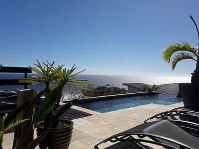 Photo for Luxury villa SUPER VIEW OCEAN & pool with hot tub