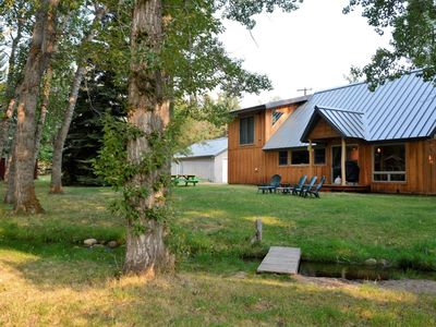 Photo for Over the river and through the woods, you`ll love this home!  Short distance from downtown and the s