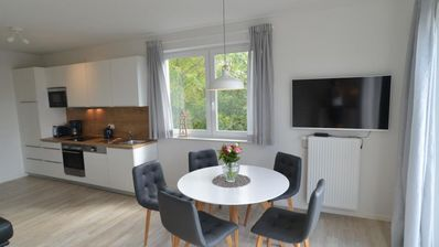 Photo for Osterhus- Spacious duplex apartment with garden terrace and balcony