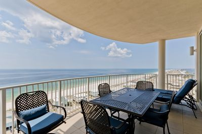 Direct Gulf and Beach Views, 18th Floor of Mustique Condo