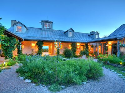 Photo for A ranch house escape set high on hilltop in Dripping Springs Tx. Sleeps 8-10
