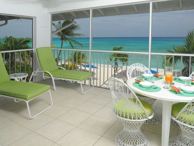 Photo for Sensational Beachfront View, 41 Discovery Point Club, Seasonal Special Offers.