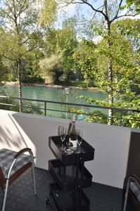 Photo for Dreamlike riverside apartment in the embassy district.