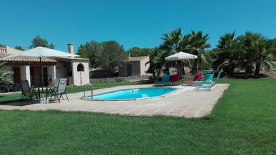 Photo for QUIET COUNTRY HOUSE IDEAL FOR FAMILIES AND VERY CLOSE TO THE BEACH Es Trenc