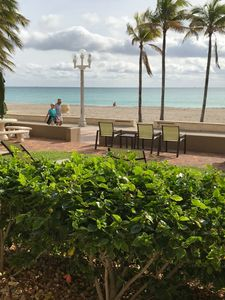 Photo for Beach Living, ground floor Condo in Hollywood Florida