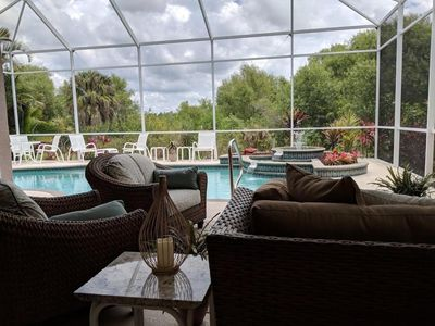 Photo for Gorgeous Furnished Pool Home in Desirable Venetia Available Now!