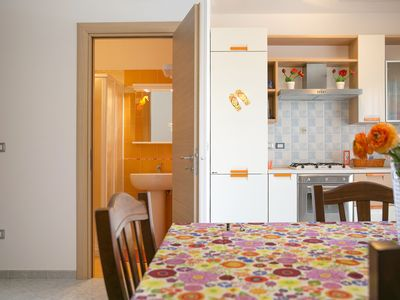 Photo for APARTMENT ORANGE - TRILOCALE 7/8 PL - 2 bathrooms with shower / 100m FROM THE BEACH