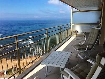 Photo for Facing the sea with a superb terrace
