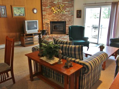 Photo for 3BR 2.5BA Roomy Condo Contemporary Furniture And Appliances Gas BBQ!