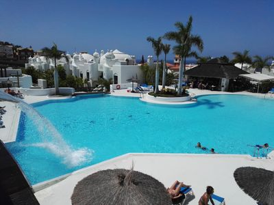 Photo for Luxury Bungalow Costa Adeje; Heated Pool, Air Conditioner, WiFi & Parking free