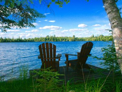 Photo for Charming cottage on Lake Vermilion.