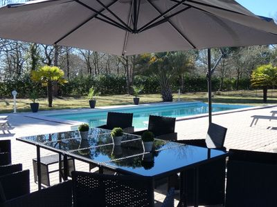 Photo for Wonderful private villa for 10 people with WIFI, private pool, TV, pets allowed and parking