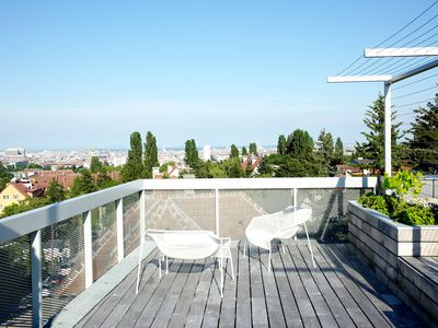 Photo for Modern house with fantastic view of Vienna