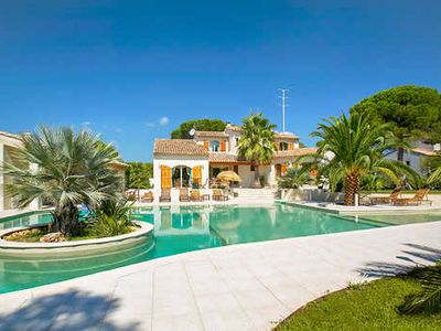 Photo for Unique villa near beach with private pool, free Wi-Fi, BBQ/outdoor dining