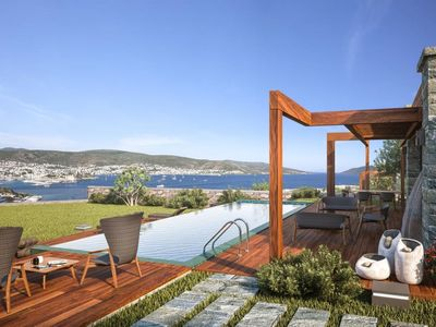 Photo for Bodrum Bardakci Luxury Villa 3Bdr with Private Pool