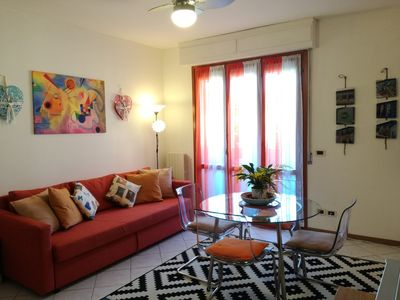Photo for L'ANGOLO DI LUCCA near the historic center, private parking, bikes, free Wi-Fi