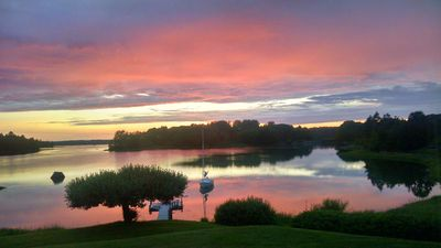 Photo for Spectacular Sunsets & Shorebirds. Great Location in Tenants Harbor.