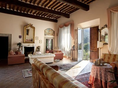 Photo for Historic panoramic villa near Lucca