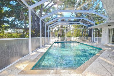 Pool - Welcome to Sarasota! Enjoy the private screened-in pool.