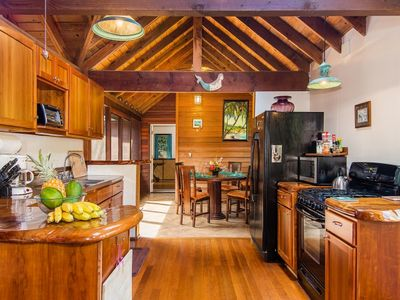 Spacious kitchen and dinning