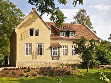 Historic rectory on the Elbe dike, 3 stylish apartments - Pfarrhaus Mödlich - Wohnung  Elbe