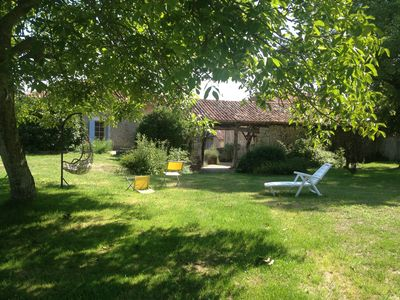 Photo for Family Farmhouse - Relaxing getaway with large private pool and spacious garden