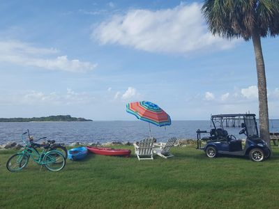 Photo for Views! - Waterfront on the Gulf of Mexico - Downtown Cedar Key - Pet Friendly