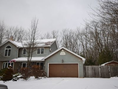 Photo for Gorgeous 4 Bedroom, 4 Bath home with Hot Tub in The Pocono Mountains