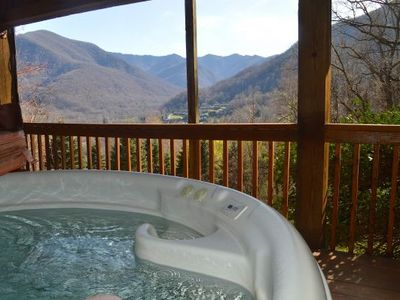 Photo for 4006 VALLEY VISTA: 2 BR / 2 BA two bedroom house in MAGGIE VALLEY, Sleeps 6