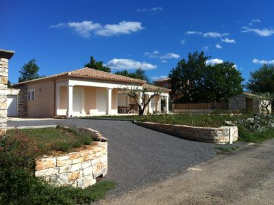 Photo for SUPERB VILLA WITH EXCEPTIONAL VIEW ON THE CEVENNES A 15 MN GORGES