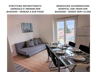 Photo for RENOVATED. MOUNTAIN VIEW. Hospital and Gocciadoro park area (1-6 people
