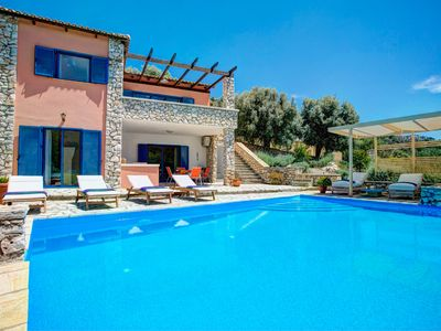 Photo for 3 bedroom Villa, sleeps 6 in Syvota with Pool, Air Con and WiFi