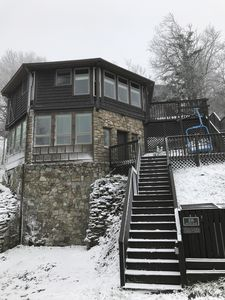Photo for Aspen Ski Loft at Beech Mountain, North Carolina - 50 Steps From the Ski Slopes