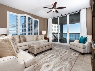 Photo for Gulf Front Condo! Sleeps 6, Tennis Court, Fitness Center, & Private Beach Access!