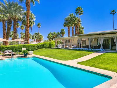 Photo for Stunning Private Villa On 1/2 Acre Property walk to El Paseo