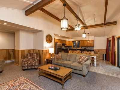 Photo for New listing! Tip Top Lodge at Skye Drive- 5 beds, 2 baths, sleeps 14!