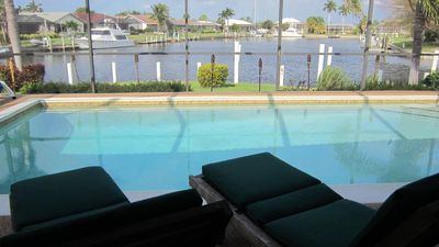 Photo for Beautiful WATERFRONT Home with 120' Dock and Yacht Accessible to the Gulf.