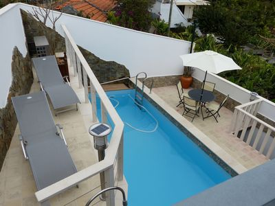 Photo for CASALAURA, Comfort house in Madeira, heated, air-conditioned swimming pool and 360ª view