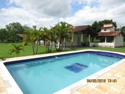 Photo for Beautiful and cozy 4 bedroom farmhouse in Araçoiaba da Serra / Sorocaba