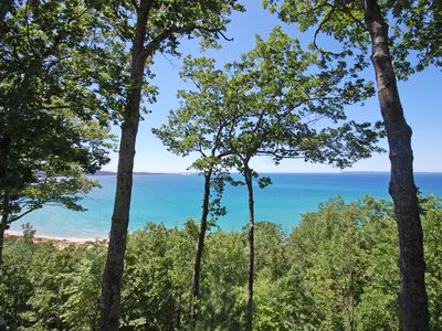 Photo for Stunning Views of Lake Michigan from this 2BR/2BA Glen Arbor Homestead Condo!