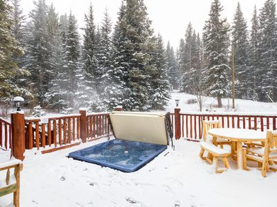 Photo for #1348 Mountainview Cabin - Seclusion 3 Miles from Downtown Breckenrige