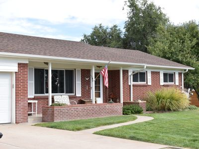 Photo for Golden/Arvada Area Country Setting House with Hot Tub, Hiking Trails, Fishing