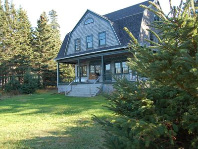 Photo for Classic shingle-style cottage boasts panoramic view of Mount Desert Island